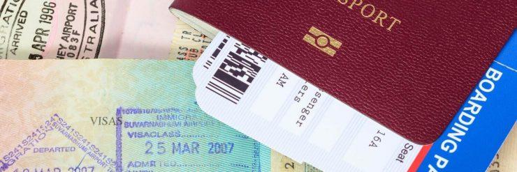 Banner Paspoort Visum