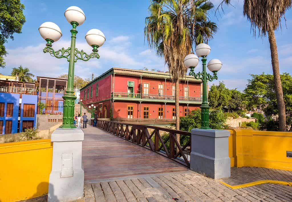Lima - Barranco - Brug der Zuchten