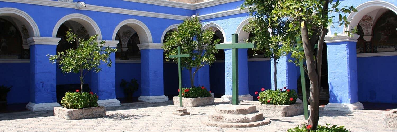 Banner Santa Catalina Klooster Arequipa