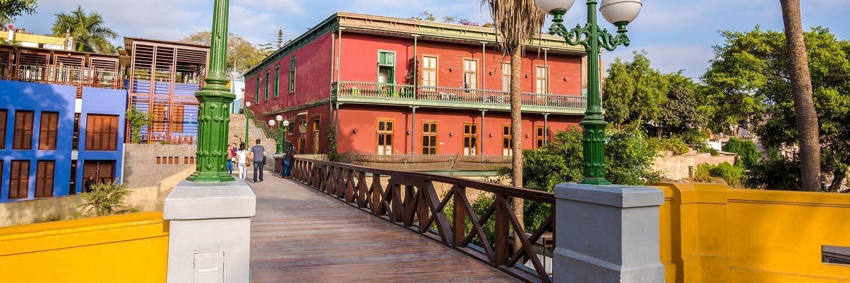 Banner Barranco Brug der Zuchten - Lima