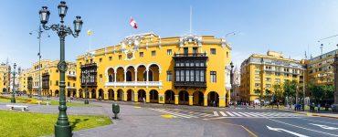Banner Historisch Lima - Stadhuis