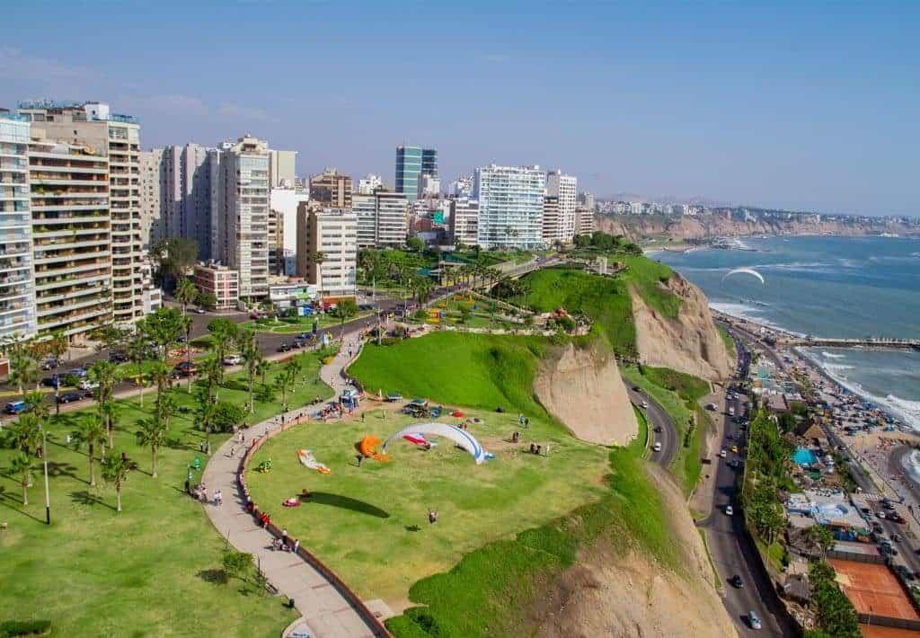Lima Miraflores - Boulevard Malecon