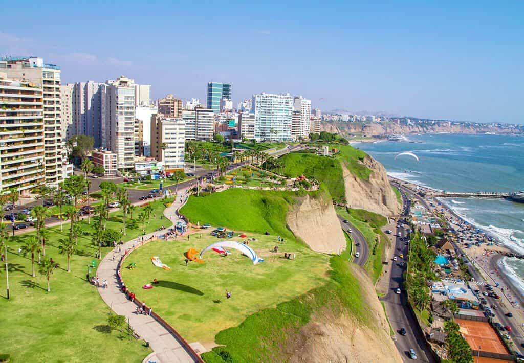 Lima - Paragliding Miraflores