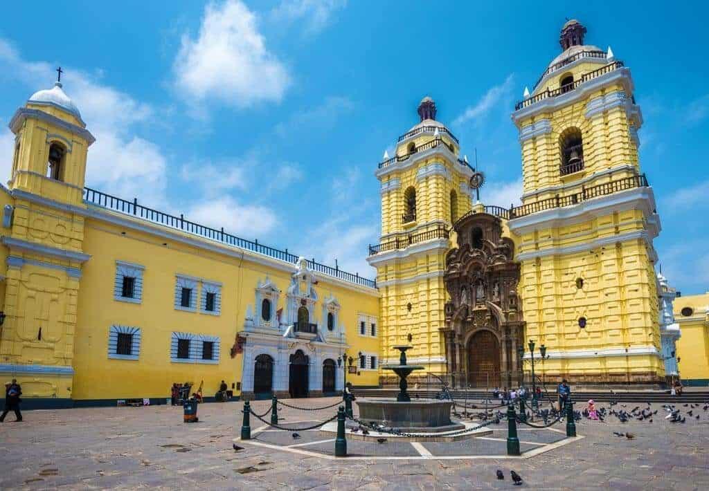 Het klooster van San Francisco Lima