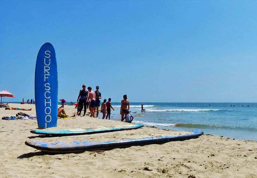 Surfschool Mancora Strand