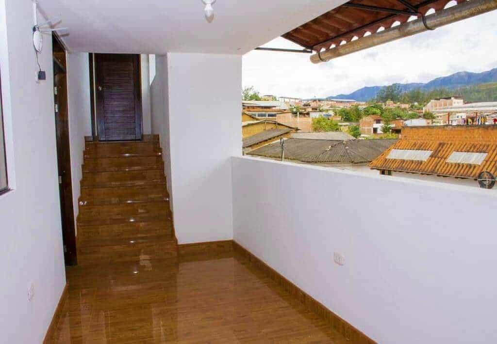 Chachapoyas - La Casa de Los Balcones - Uitzicht