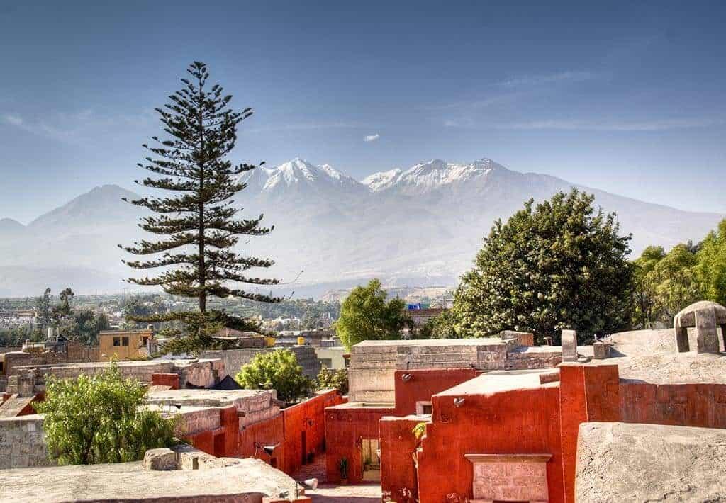 Klooster Santa Catalina Bergen - Arequipa