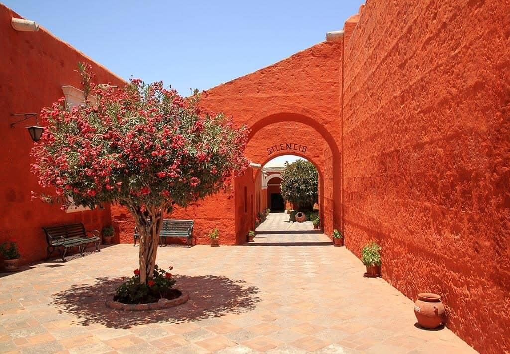 Klooster Santa Catalina Silencio - Arequipa