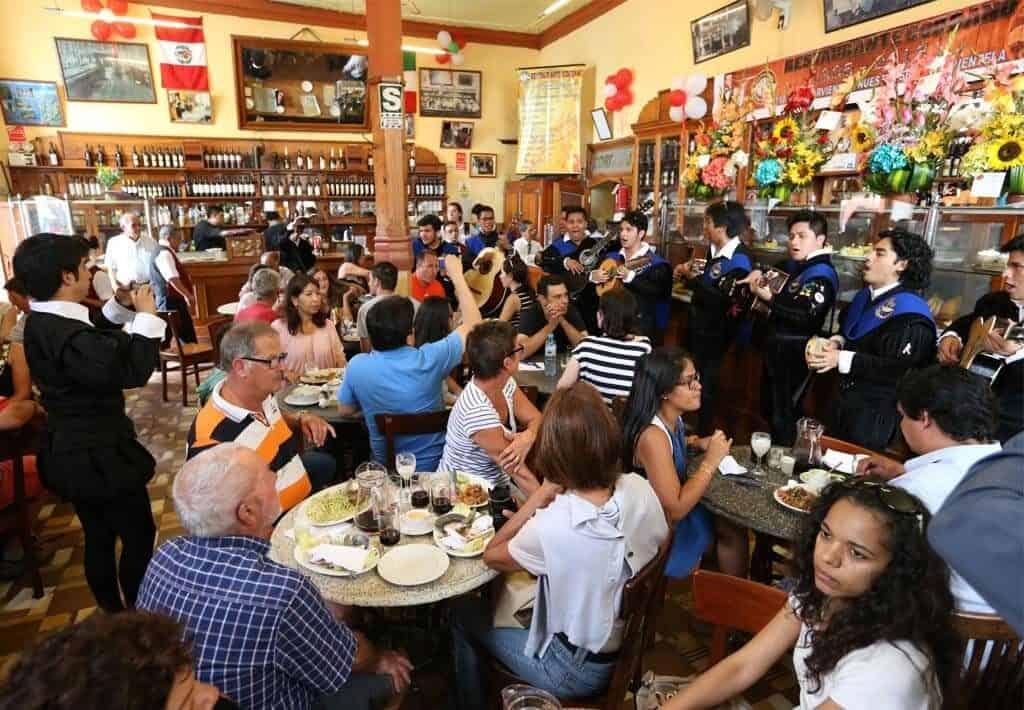 Bar Cordano - overzicht - Lima