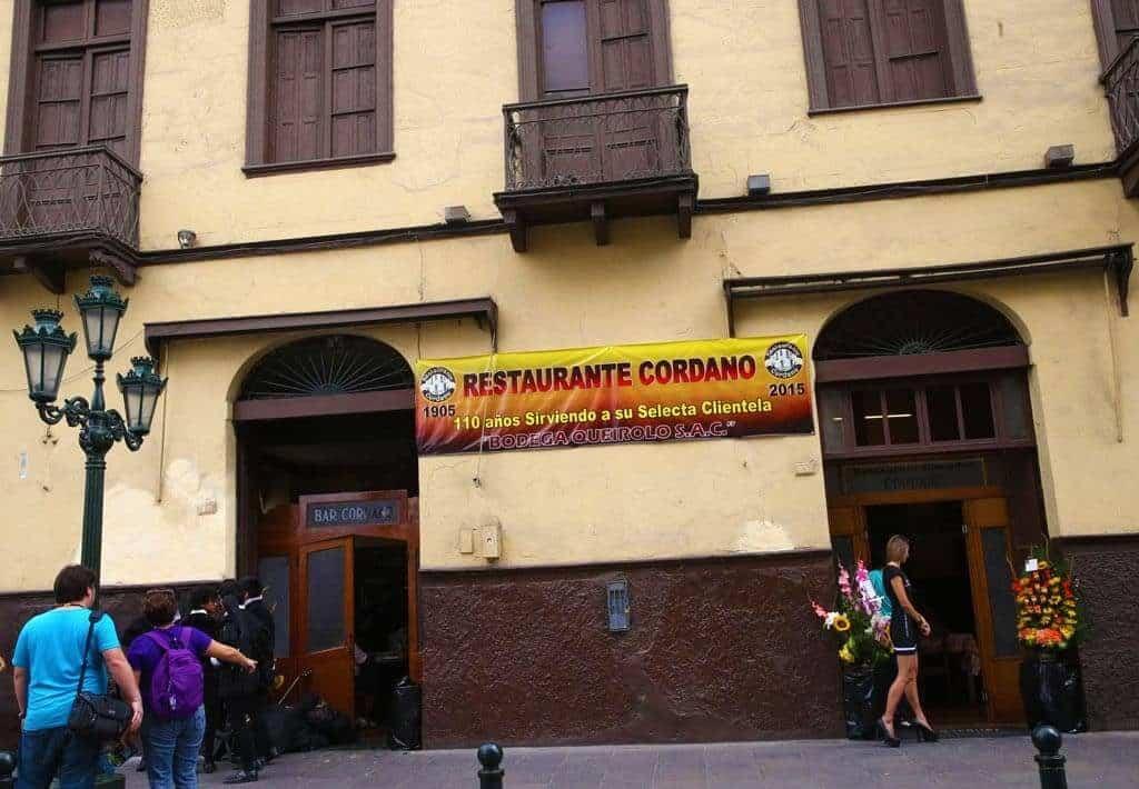 Bar Cordano - Lima
