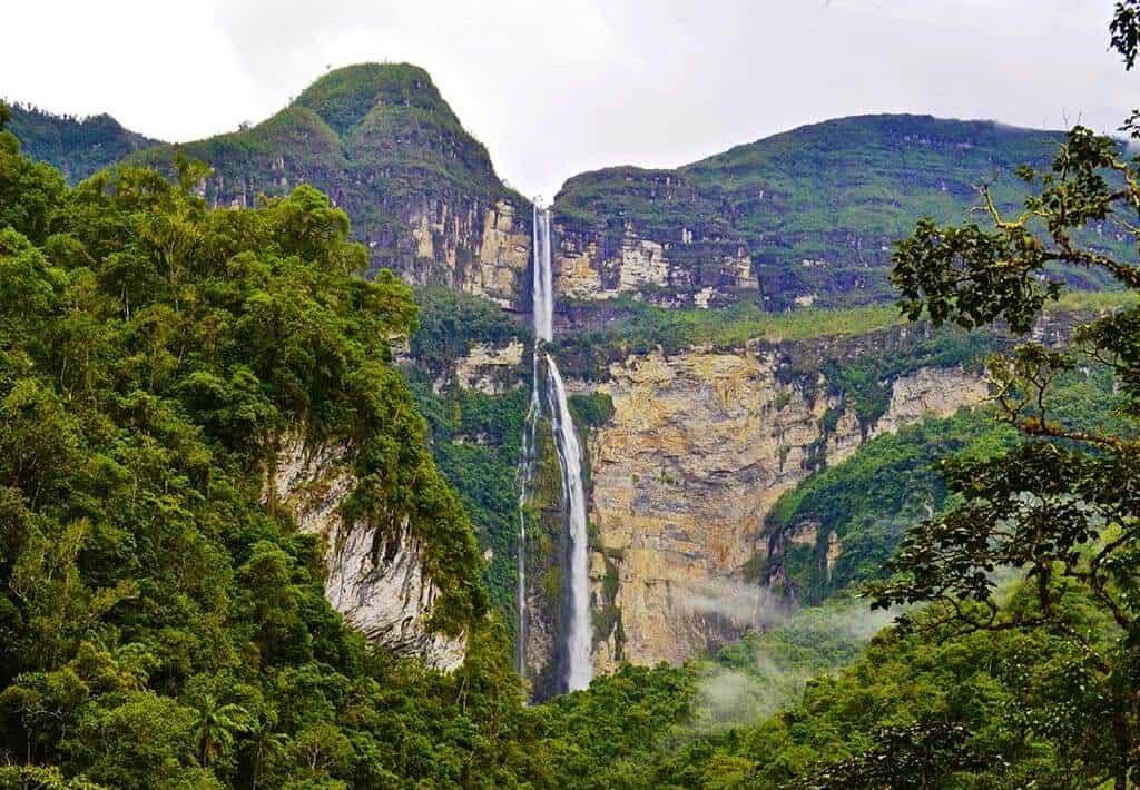 Waterval van Gocta - Chachapoyas