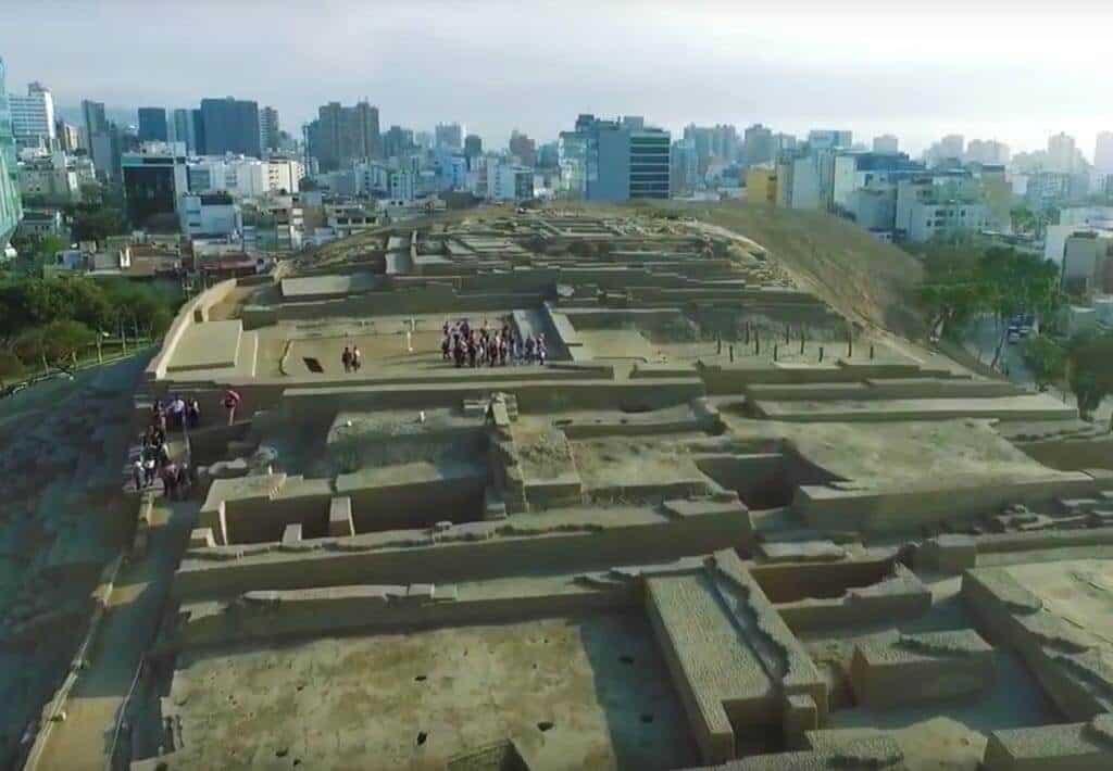 Huaca Pucllana Overzicht - Lima