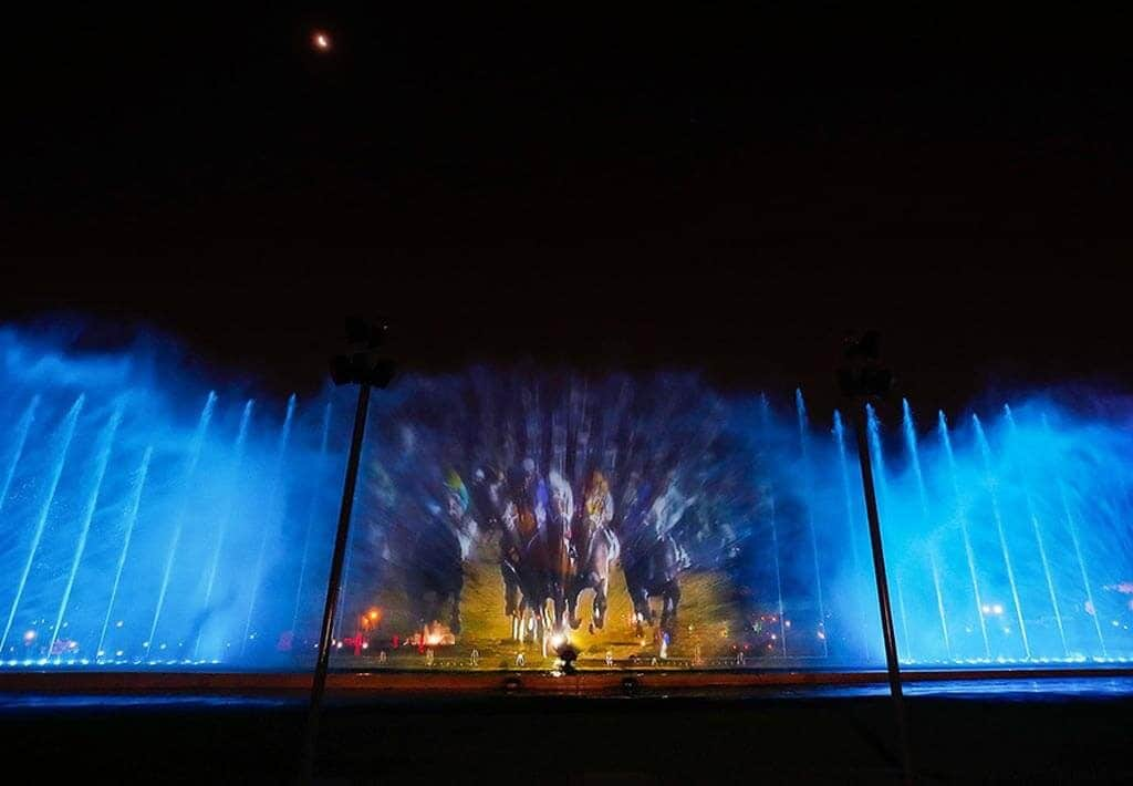 Waterpark Lima Lichtshow