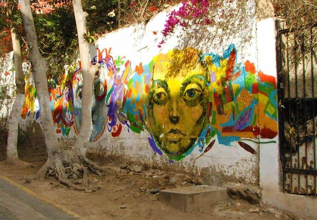 Kunst in Barranco, Lima