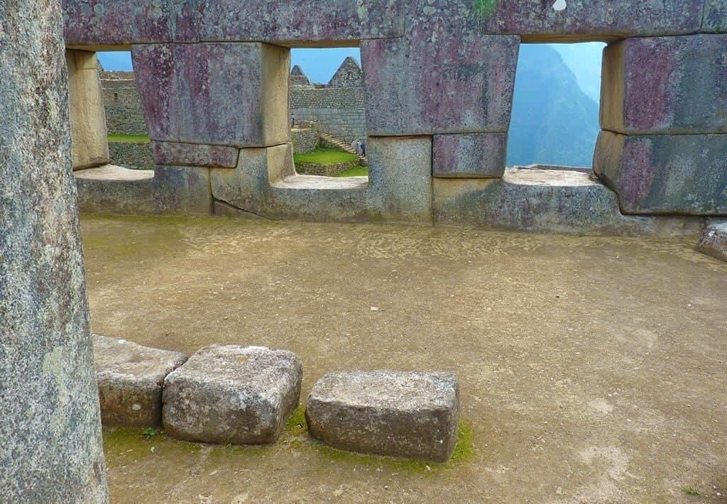 Tres ventanas - Machu Picchu