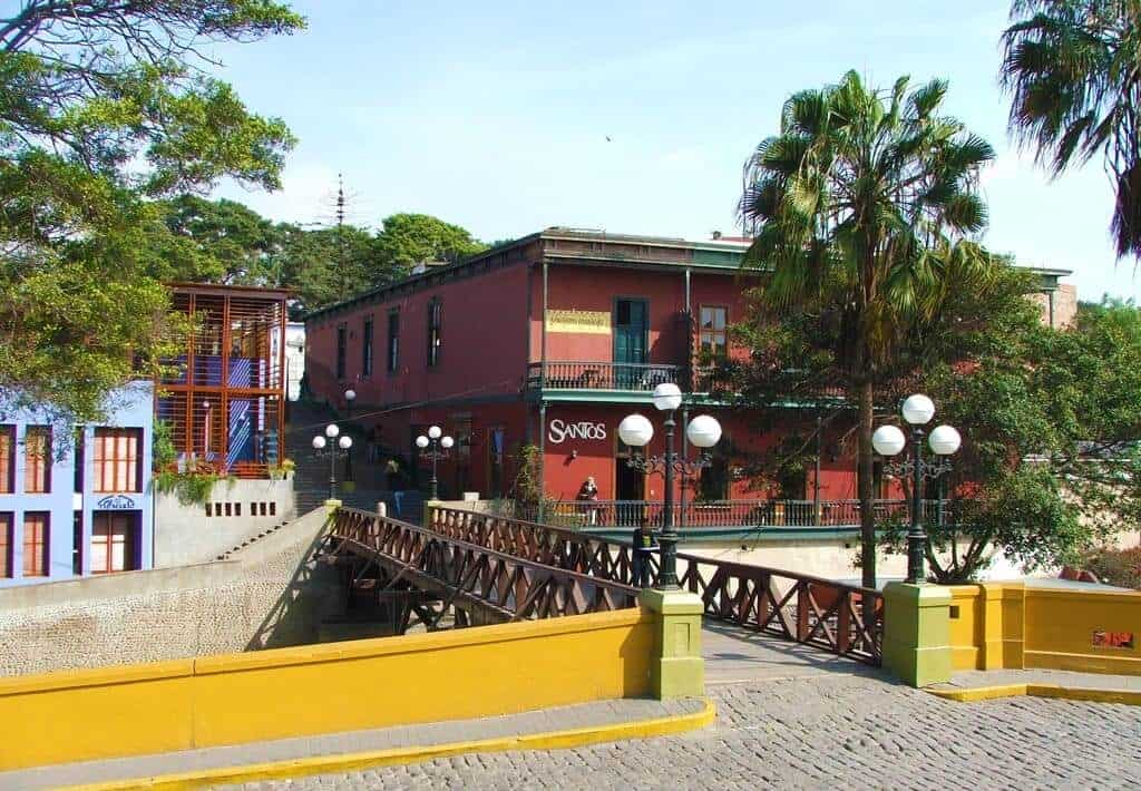 Puente de Suspiros Barranco, Lima